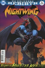 Nightwing (2016-2020) #6 Variant B: Variant Cover