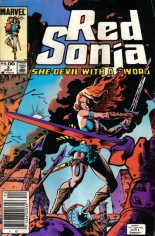 Red Sonja, She-Devil With A Sword (1983-1986) #3 Variant A: Newsstand Edition