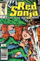 Red Sonja, She-Devil With A Sword (1983-1986) #4 Variant A: Newsstand Edition