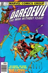 Daredevil (1964-1998) #172 Variant A: Newsstand Edition
