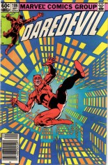 Daredevil (1964-1998) #186 Variant A: Newsstand Edition