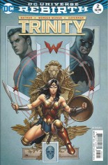 Trinity (2016-2018) #2 Variant B: Variant Cover