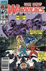 New Warriors (1990-1996) #2 Variant A: Newsstand Edition