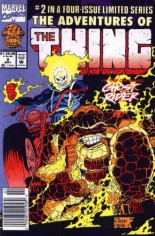 Adventures of the Thing (1992) #2 Variant A: Newsstand Edition