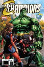 Champions (2016) #1 Variant P: KRS Comics Exclusive Variant