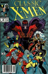 Classic X-Men (1986-1990) #19 Variant A: Newsstand Edition