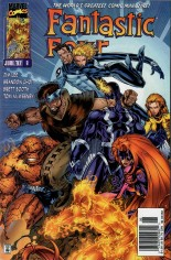 Fantastic Four (1996-1997) #8 Variant A: Newsstand Edition