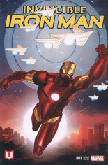 Invincible Iron Man (2015-2016) #1 Variant ZK: Marvel Unlimited Variant