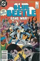 Blue Beetle (1986-1988) #7 Variant A: Newsstand Edition