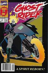 Ghost Rider (1990-1998) #1 Variant A: Newsstand Edition