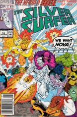 Silver Surfer (1987-1998) #72 Variant A: Newsstand Edition