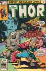 Thor (1966-1996) #289 Variant C: UK Edition