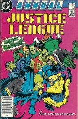 Justice League (1987) #Annual 1 Variant A: Newsstand Edition