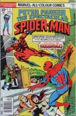 Spectacular Spider-Man (1976-1998) #1 Variant B: UK Edition