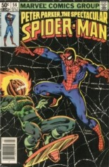 Spectacular Spider-Man (1976-1998) #56 Variant A: Newsstand Edition