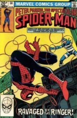 Spectacular Spider-Man (1976-1998) #58 Variant C: UK Edition