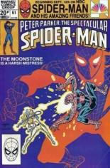 Spectacular Spider-Man (1976-1998) #61 Variant C: UK Edition