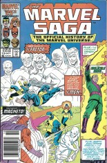 Marvel Saga (1985-1987) #11 Variant A: Newsstand Edition