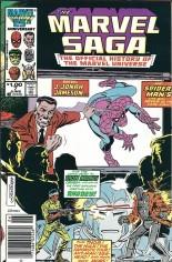 Marvel Saga (1985-1987) #7 Variant A: Newsstand Edition