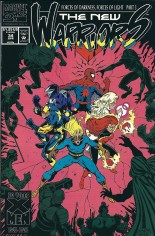 New Warriors (1990-1996) #34 Variant B: Direct Edition