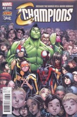 Champions (2016) #3 Variant F: Stan Lee Box Exclusive Color Variant Edition