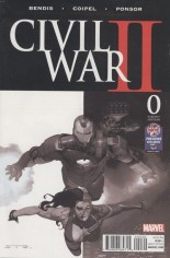 Civil War II (2016) #0 Variant L: UK Previews Exclusive Variant