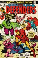 Defenders (1972-1986) #9 Variant B: UK Edition