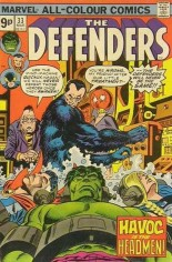 Defenders (1972-1986) #33 Variant B: UK Edition