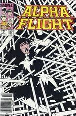 Alpha Flight (1983-1994) #3 Variant C: 75 Cent Variant