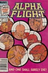 Alpha Flight (1983-1994) #12 Variant C: $1.25 Variant