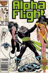 Alpha Flight (1983-1994) #37 Variant C: 95 Cent Variant