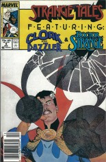 Strange Tales (1987-1988) #9 Variant A: Newsstand Edition
