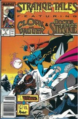 Strange Tales (1987-1988) #5 Variant A: Newsstand Edition