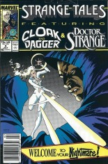 Strange Tales (1987-1988) #4 Variant A: Newsstand Edition