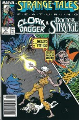 Strange Tales (1987-1988) #2 Variant A: Newsstand Edition