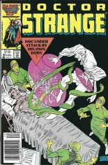 Doctor Strange (1974-1987) #80 Variant A: Newsstand Edition