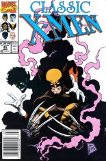 Classic X-Men (1986-1990) #45 Variant A: Newsstand Edition; Numbering continued in X-Men Classic (1990-1995) #46