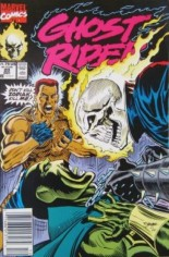 Ghost Rider (1990-1998) #20 Variant A: Newsstand Edition