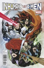 Inhumans vs. X-Men (2016-2017) #4 Variant C