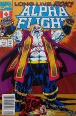 Alpha Flight (1983-1994) #116 Variant A: Newsstand Edition