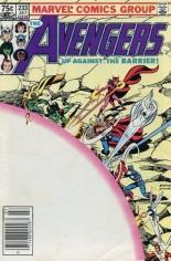 Avengers (1963-1996) #233 Variant C: 75 Cent Variant