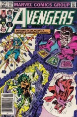 Avengers (1963-1996) #235 Variant C: 75 Cent Variant