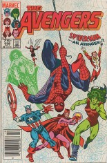 Avengers (1963-1996) #236 Variant C: 75 Cent Variant