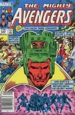 Avengers (1963-1996) #243 Variant C: 75 Cent Variant