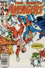 Avengers (1963-1996) #248 Variant C: 75 Cent Variant