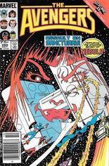 Avengers (1963-1996) #260 Variant C: 75 Cent Variant