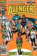 Avengers (1963-1996) #266 Variant C: 95 Cent Variant