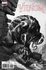 Venom (2017-2018) #4 Variant D: Frankie's Comics/Sad Lemon Comics/Superheroes Exclusive B&W Variant Cover