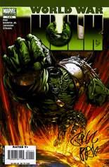 World War Hulk (2007-2008) #1 Variant J: DF Signed Edition; Signed by Greg Pak