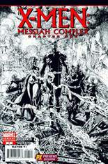 X-Men: Messiah CompleX (2007) #One-Shot Variant C: Previews Exclusive Sketch Variant